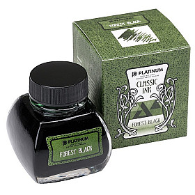 Platinum Classic Ink - 60 ml - Forest Black