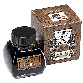 Platinum Classic Ink - 60 ml - Khaki Black
