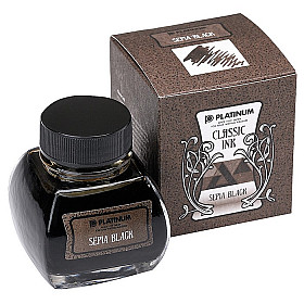 Platinum Classic Ink - 60 ml - Sepia Black