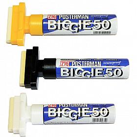 Kuretake ZIG Posterman Biggie 50 Marker (50mm Breed)