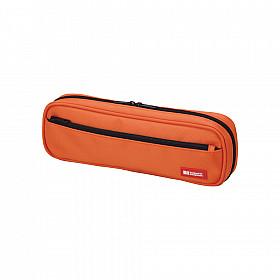 LIHIT LAB 2-Way Type Flexibel Inzetbaar Pen Etui - Oranje