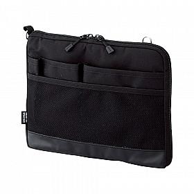 LIHIT LAB Smart Fit Bag in Bag - Horizontale Versie - A5 - Zwart