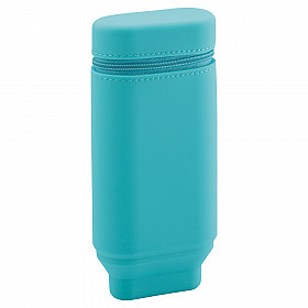 LIHIT LAB Smart Fit Actact Stand Pen Etui - Ovaal Type - Turquoise