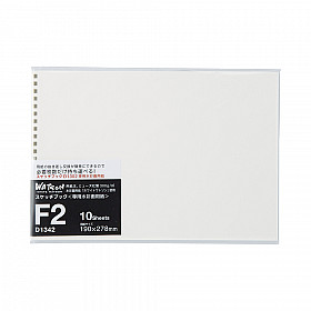LIHIT LAB Sketch Book Navulling -  Afmeting F2 190 x 278 mm - 300 grams Papier - 10 Vellen