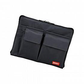 LIHIT LAB Bag in Bag - Horizontale Versie - A5 - Zwart