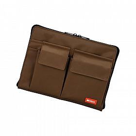 LIHIT LAB Bag in Bag - Horizontale Versie - A5 - Bruin