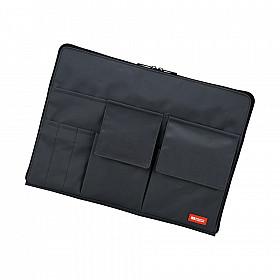 LIHIT LAB Bag in Bag - Horizontale Versie - A4 - Zwart