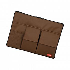 LIHIT LAB Bag in Bag - Horizontale Versie - A4 - Bruin