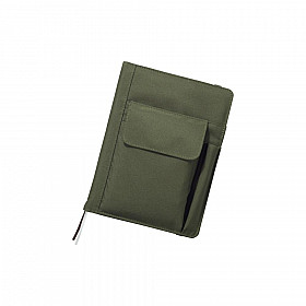 LIHIT LAB Smart Fit Cover Notebook - A5 - Groen