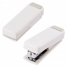 LIHIT LAB M-20 Opvouwbare Mini Nietmachine - 10 pagina's - Wit