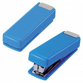 LIHIT LAB M-20 Opvouwbare Mini Nietmachine - 10 pagina's - Blauw