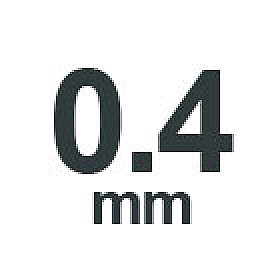 0.4 mm