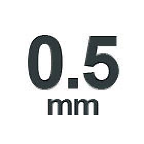 0.5 mm
