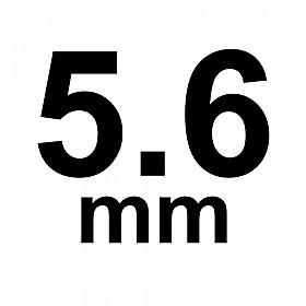 5.6 mm