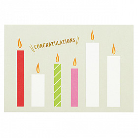 Mark's Japan With Maste Decoration - gift card set - Congratulations