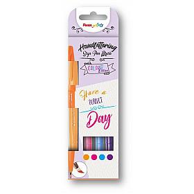 Pentel Touch Brush Sign Pen - Colour Edition - Set van 4