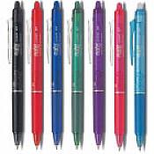 Uitwisbare pennen