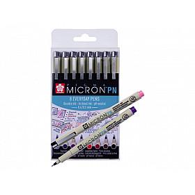 Sakura Pigma Micron PN Fineliner - Set van 8