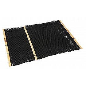 JapanShop Bamboe Placemat - Zwart - 40x28 cm