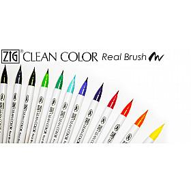 Kuretake ZIG Clean Color Real Brush Pen - 80 Kleuren (Los per stuk)