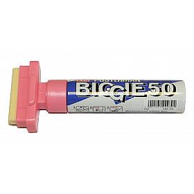Kuretake ZIG Posterman Biggie 50 Short Marker - 50 mm Breed - Roze