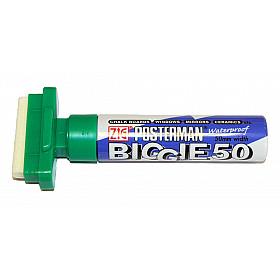 Kuretake ZIG Posterman Biggie 50 Short Marker - 50 mm Breed - Groen