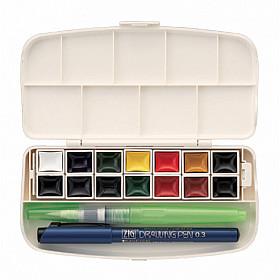 Kuretake Transparent Water Color Set - 14 kleuren