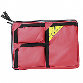 Mark's Japan Togakure Bag-in-Bag - Grootte L - Koraal Rood