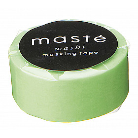 Mark's Japan Maste Washi Masking Tape - Neon Light Green