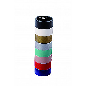 Mark's Japan Maste Washi Masking Tape - Color Mix - Set of 8