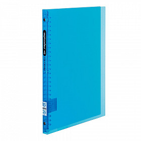 Maruman Septcouleur Ringband - B5 - 60 pagina's - Plastic Ringband - Lichtblauw