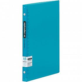 Maruman Septcouleur Ringband - A5 - 60 pagina's - Plastic Ringband - Lichtblauw