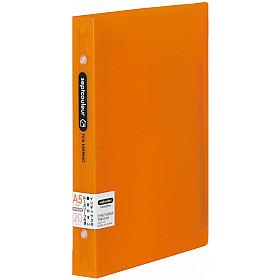 Maruman Septcouleur Ringband - A5 - 100 pagina's - Metalen Ringband - Oranje