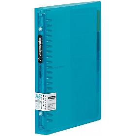 Maruman Septcouleur Ringband - A5 - 100 pagina's - Metalen Ringband - Lichtblauw