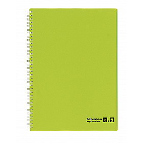 Maruman Sept Couleur Notebook - A4 - Gelinieerd - 80 pagina's - Groen (Japan)