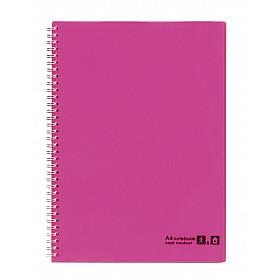 Maruman Sept Couleur Notebook - A4 - Gelinieerd - 80 pagina's - Roze (Japan)