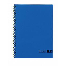 Maruman Sept Couleur Notebook - B5 - Gelinieerd - 80 pagina's - Blauw (Japan)