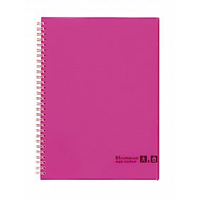 Maruman Sept Couleur Notebook - B5 - Gelinieerd - 80 pagina's - Roze (Japan)
