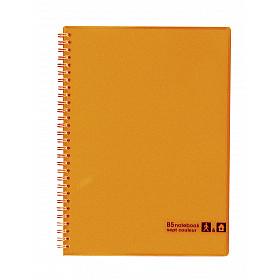 Maruman Sept Couleur Notebook - B5 - Gelinieerd - 80 pagina's - Oranje (Japan)