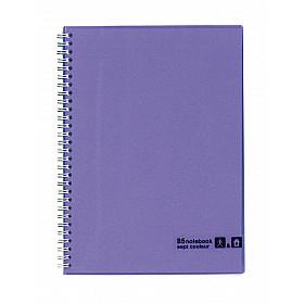 Maruman Sept Couleur Notebook - B5 - Gelinieerd - 80 pagina's - Violet (Japan)
