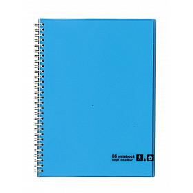 Maruman Sept Couleur Notebook - B5 - Gelinieerd - 80 pagina's - Lichtblauw (Japan)