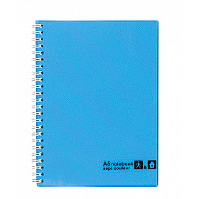 Maruman Sept Couleur Notebook - A5 - Gelinieerd - 80 pagina's - Lichtblauw (Japan)