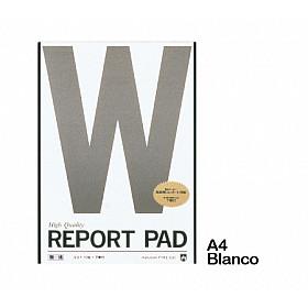 Maruman Report Pad Schrijfblok - A4 - Blanco - 40 Pagina's