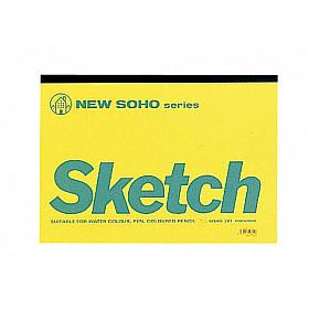 Maruman SOHO series Schetsboek - B4 (Groot) - 126.5g papier - 70 pagina's (Japan)