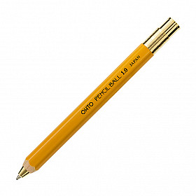 OHTO Pencil Ball 1.0 Ballpoint - Geel