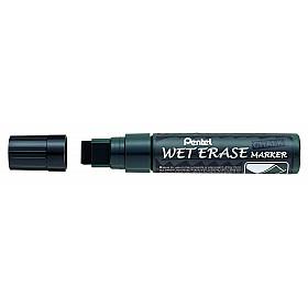 Pentel Wet Erase Krijtstift - Zeer Breed - Zwart