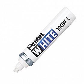 Pentel 100W Marker - Extra Breed - Wit