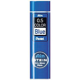 Pentel Ain STEIN C275-BL Silicium Vulpotlood vulling - Etui van 20 - 0.5 mm - Blauw