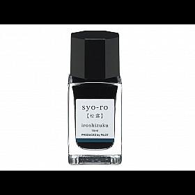 Pilot  Iroshizuku Mini Inktpot 15 ml - Syo-ro (Donker Turquoise)