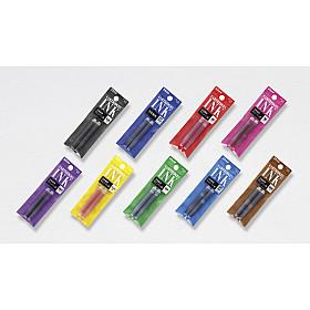 Platinum SPN100-A Vulpen Vulling - Set van 2 - Blauwzwart (Japan)